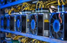 Chinese crypto mining machine maker Canaan saw its stock price closed at $1.98 per share, the first time since its initial public offering at a price of $9 per share last December. (Credit: Shutterstock)