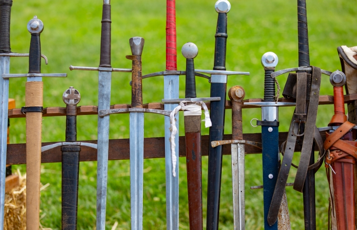 https://www.shutterstock.com/image-photo/close-rack-swords-1389100136