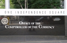 https://commons.wikimedia.org/wiki/File:Comptroller_of_the_Currency_HQ_sign_by_Matthew_Bisanz.jpg