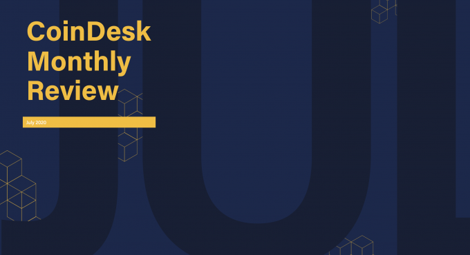 The CoinDesk Monthly Review for July 2020 covers how bitcoin performed vs. gold; how Ethereum is responding to stablecoin pressures; volume in crypto markets; and the returns, volatility and correlations of stablecoins in the CoinDesk 20.