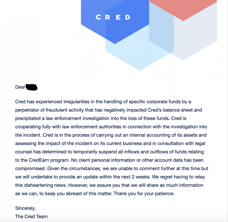 cred-letter