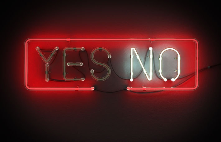 yes-or-no-sign-made-from-neon-alphabet