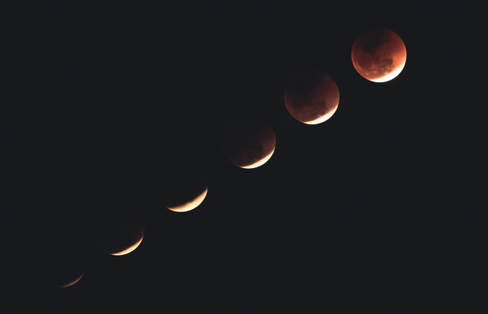 Phases of the moon, lunar eclipse