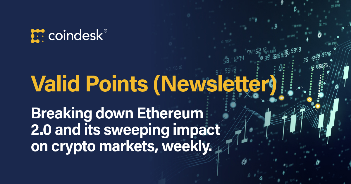 CoinDesk Stakes 32 ETH For Ethereum 2.0`s Launch...
