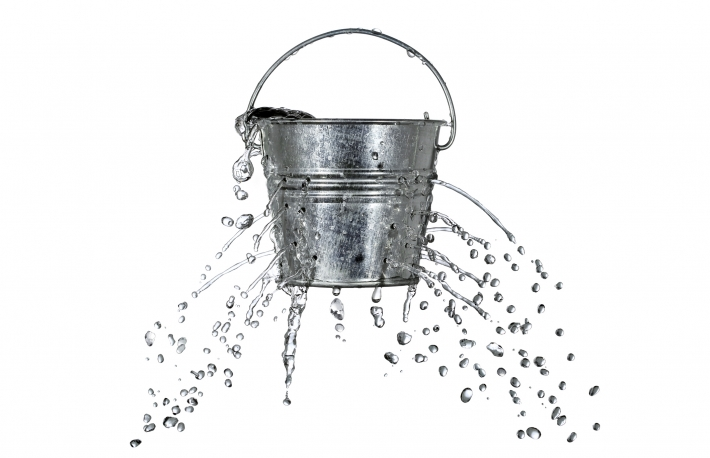 bucket-with-holes