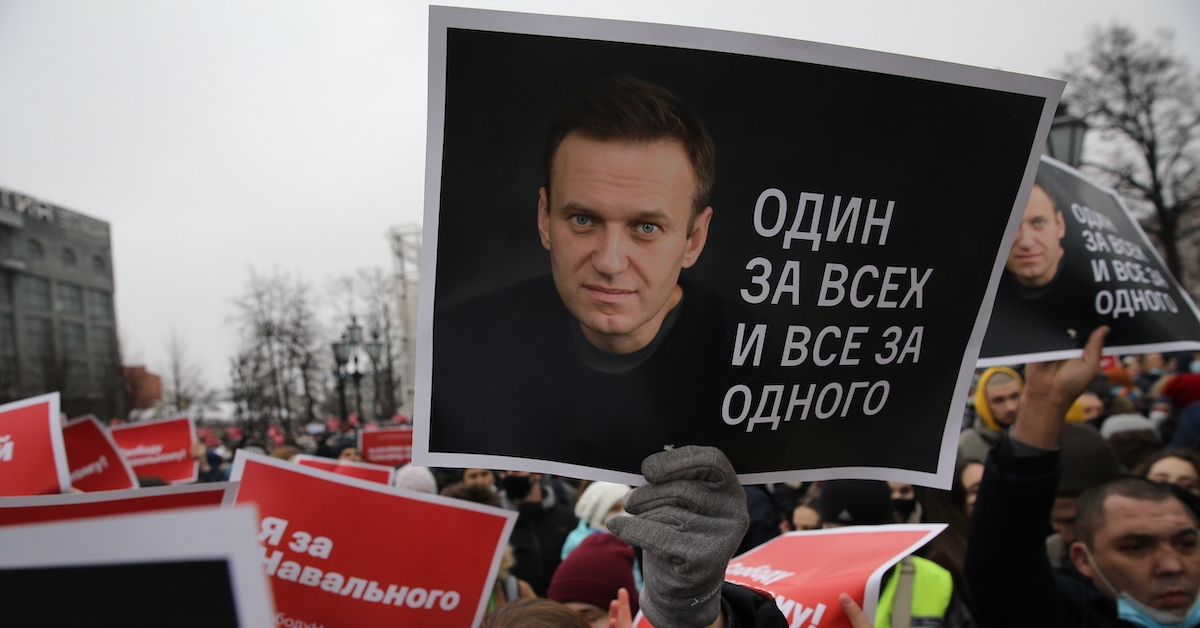 Bitcoin Donations to Navalny Surge After Russian Opposition Leader Is Jailed
