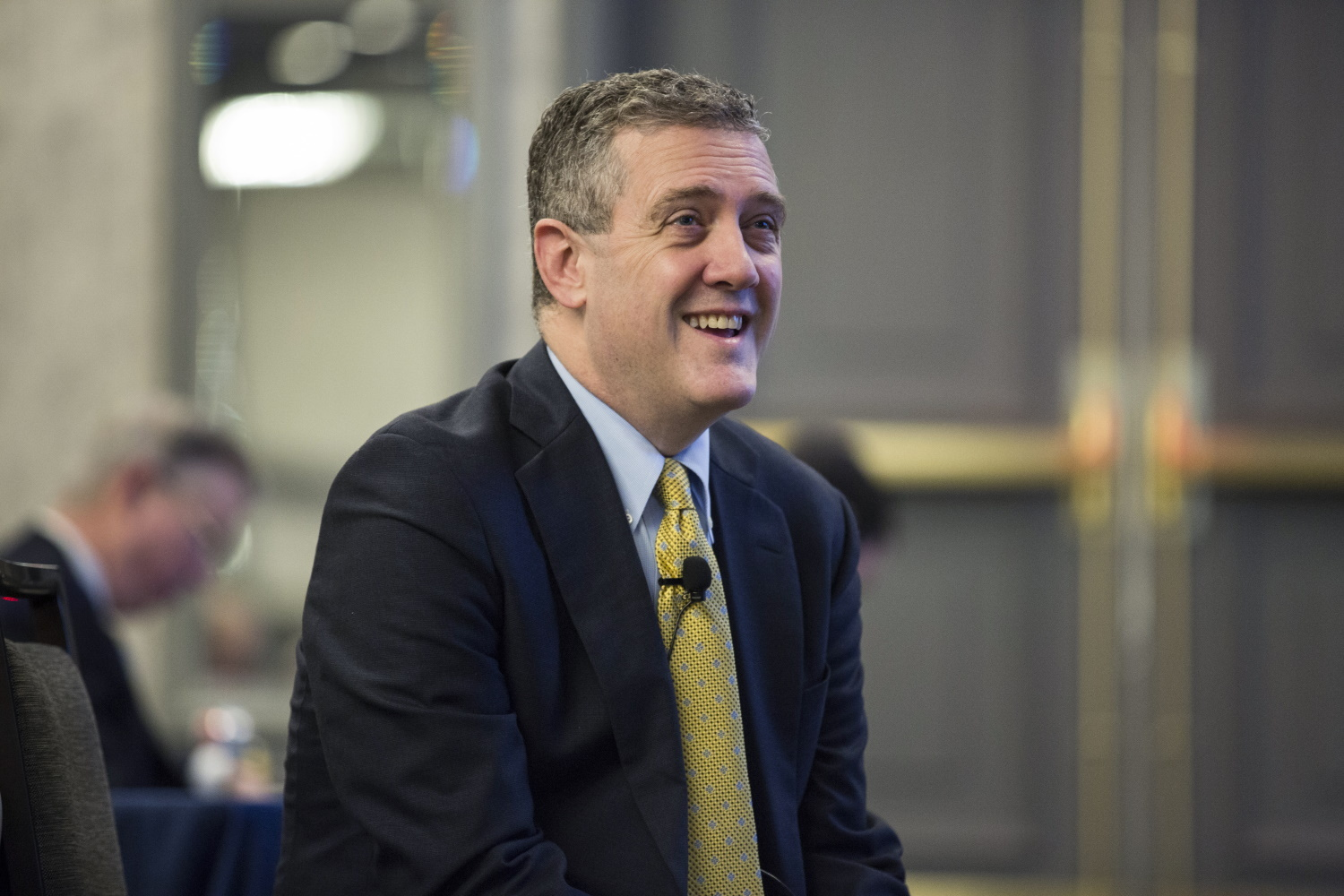 Fed's Bullard Says Time Is Right to Scale Back Stimulus; Bitcoin Unmoved