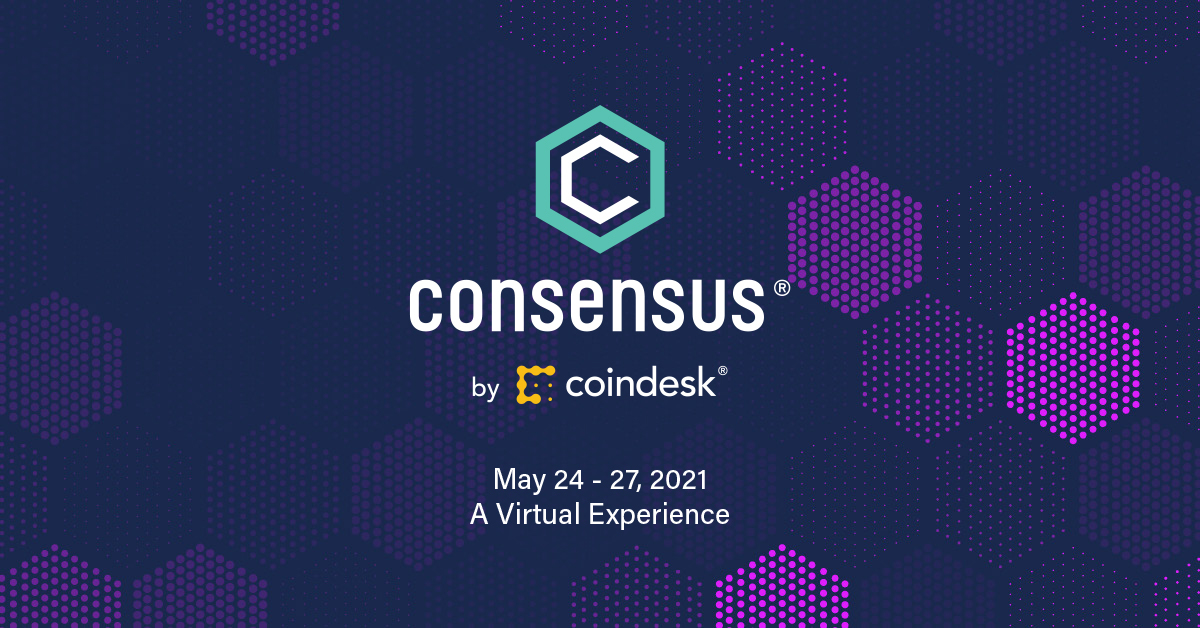 Consensus by CoinDesk | May 24-27, 2021