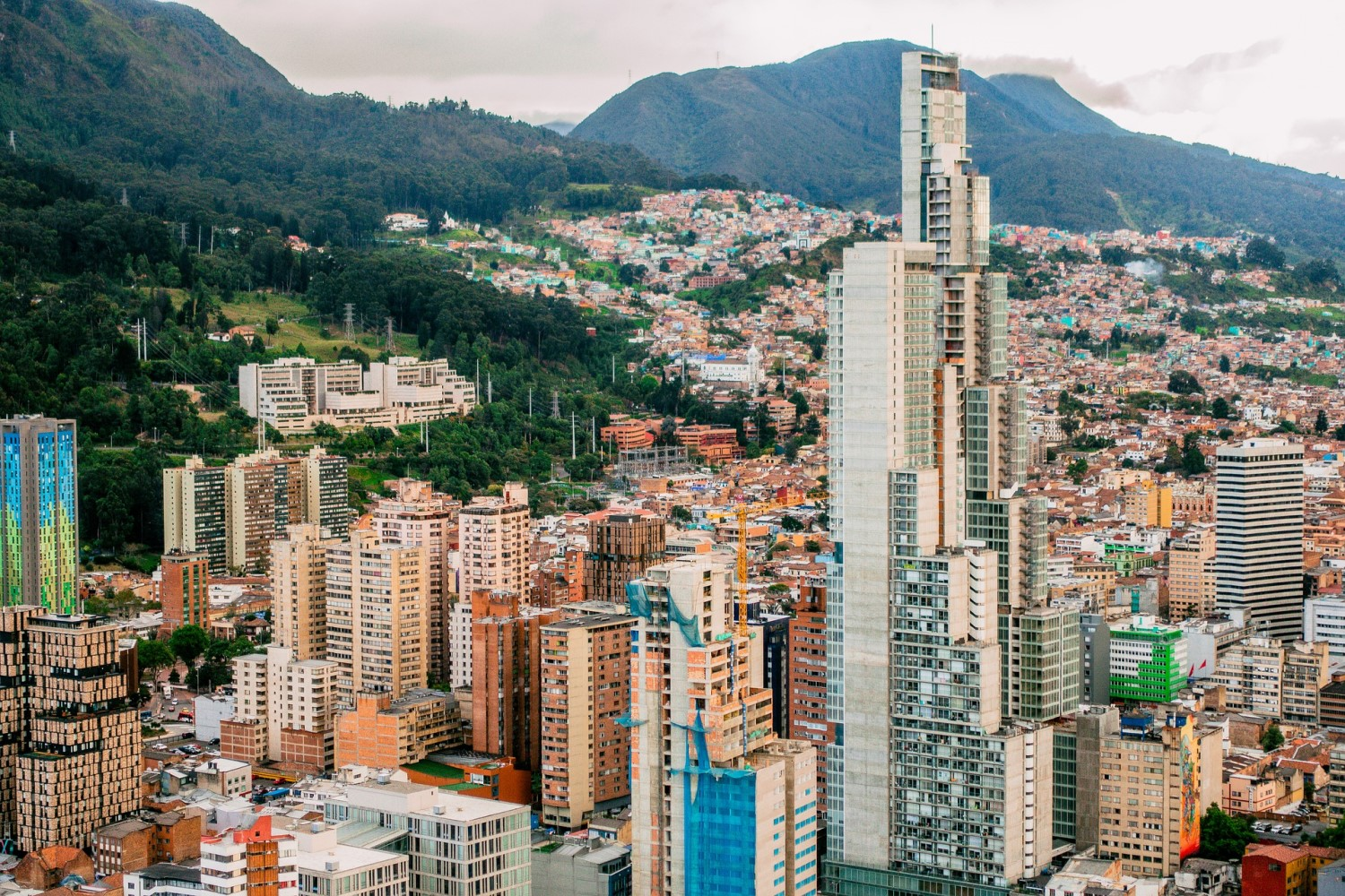 Colombia's Capital Unveils $2.8B Blockchain Investment Plan