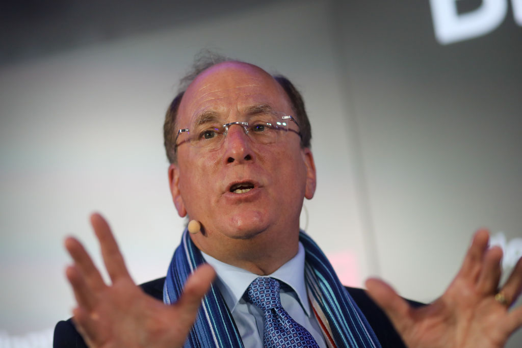 BlackRock CEO Larry Fink Says There's 'Very Little' Demand for Crypto