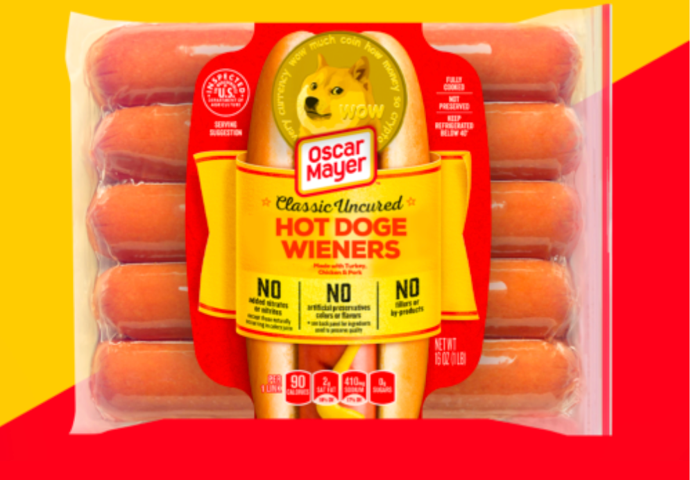Oscar Mayer Auctions Off Single Pack of 'Hot Doge Wieners' Worth 10,000 Dogecoins